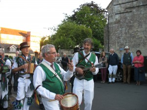 Alan and Tom, our musicians in Tisbury